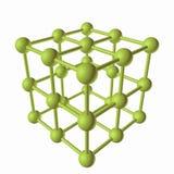 Estructura molecular Imágenes de archivo libres de regalías