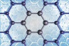 Estructura molecular Fotos de archivo