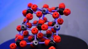 Estructura molecular y vinculación Fotos de archivo libres de regalías