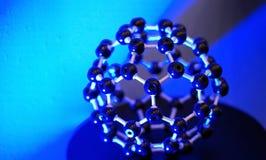 Estructura molecular y vinculación Fotografía de archivo libre de regalías