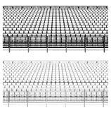 Estructura que ensambla para el vector 02 de los estadios de los deportes libre illustration