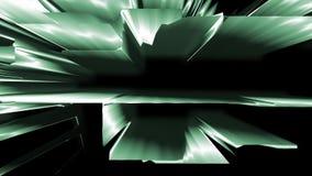 Estructura tecnológica animada del extracto ilustración del vector