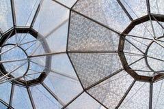 Estructuras circulares del paraguas foto de archivo libre de regalías