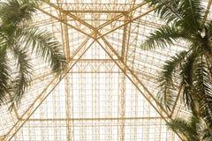 Estructuras de acero de la arquitectura Fotografía de archivo libre de regalías