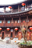 Estructuras de tierra de Fujian Fotos de archivo