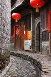 Estructuras de tierra de Fujian Fotos de archivo libres de regalías
