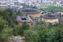 Estructuras de tierra de Fujian Fotografía de archivo