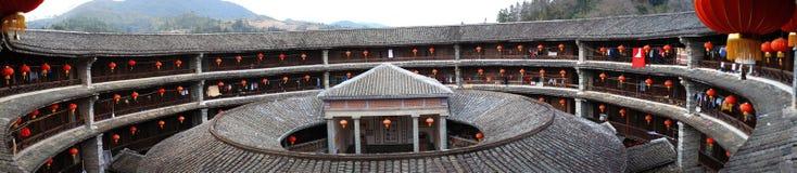 Estructuras de tierra de Fujian foto de archivo