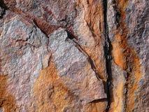 Estructuras del hierro oxidado Fotos de archivo