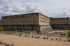 Estructuras en Mitla, Oaxaca Foto de archivo