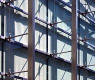 Estrutura abstrata do prédio de escritórios, Imagens de Stock