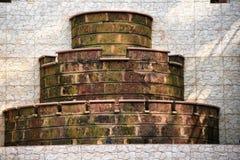Estrutura agradável do tijolo fotos de stock