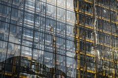 Estrutura amarela Fotografia de Stock