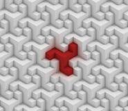 Estrutura cúbica sem emenda Fotografia de Stock Royalty Free
