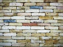 Estrutura colorida da arquitetura da parede de tijolo Fotos de Stock Royalty Free