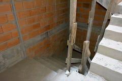 Estrutura crua da escadaria fotos de stock