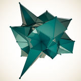 A estrutura 3d rende a computação gráfica CG Ilustração de cristal Um do grupo Mais em minha carteira Fotos de Stock Royalty Free