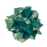A estrutura 3d rende a computação gráfica CG Ilustração de cristal Um do grupo Mais em minha carteira Imagens de Stock Royalty Free