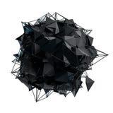 A estrutura 3d rende a computação gráfica CG Ilustração de cristal Um do grupo Mais em minha carteira Foto de Stock