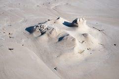 Estrutura da areia Foto de Stock