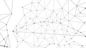 Estrutura da conexão ilustração stock