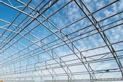 Estrutura da construção do metal Foto de Stock Royalty Free