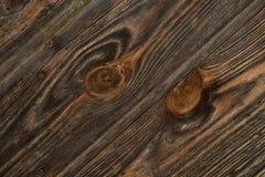 Estrutura da madeira de Brown Imagens de Stock Royalty Free