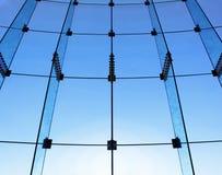 Estrutura da parede de vidro imagem de stock