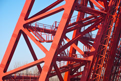 Estrutura da ponte fotos de stock