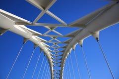 Estrutura da ponte Fotografia de Stock Royalty Free