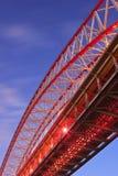 Estrutura da ponte foto de stock royalty free
