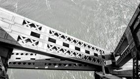 Estrutura da ponte de Quebeque ilustração royalty free