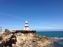 Estrutura da praia rochosa Imagem de Stock Royalty Free
