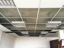 Estrutura da suspensão do teto foto de stock