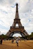 A estrutura da torre Eiffel, Paris Fotografia de Stock Royalty Free