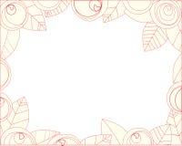 Estrutura das rosas de florescência Imagens de Stock Royalty Free