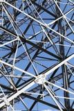 Estrutura de aço imagens de stock