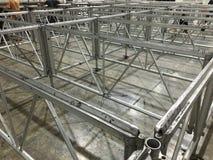 Estrutura de alumínio Imagem de Stock