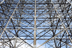 Estrutura de aço Imagem de Stock