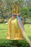 Estrutura de Bell em um templo do wat Fotos de Stock