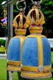 Estrutura de Bell em um templo Tailândia Ang Thong do wat Imagens de Stock Royalty Free