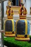 Estrutura de Bell em um templo Tailândia Ang Thong do wat Fotografia de Stock