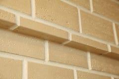 A estrutura de canto da casa Textura - façade artificial da pedra decorativa textura áspera do fundo da parede de pedra da cor c Fotografia de Stock