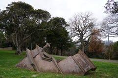 Estrutura de construção antiga enterrada Fotografia de Stock Royalty Free