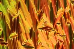 Estrutura de cristal líquida microscópica imagem de stock royalty free