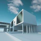Estrutura de edifício do negócio Imagem de Stock