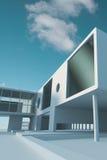 Estrutura de edifício do negócio Imagem de Stock Royalty Free