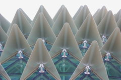 Estrutura de edifício interessante Fotografia de Stock Royalty Free