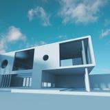 Estrutura de edifício moderna Imagem de Stock Royalty Free