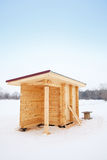 A estrutura de madeira Fotos de Stock Royalty Free